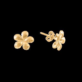 Ohrhänger mit Blumen