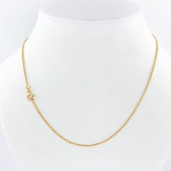 necklace red gold