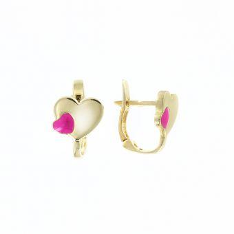 Ohrhänger mit Emaille